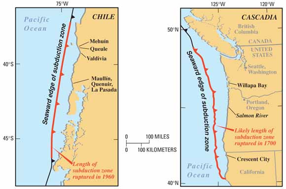 Maps Of Cost Of Chile And Washington