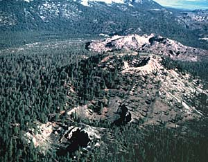 Where Will Volcanoes Erupt in California's Long Valley Area