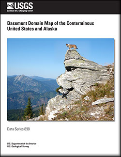 USGS Data Series 898 Basement Domain Map of the Conterminous