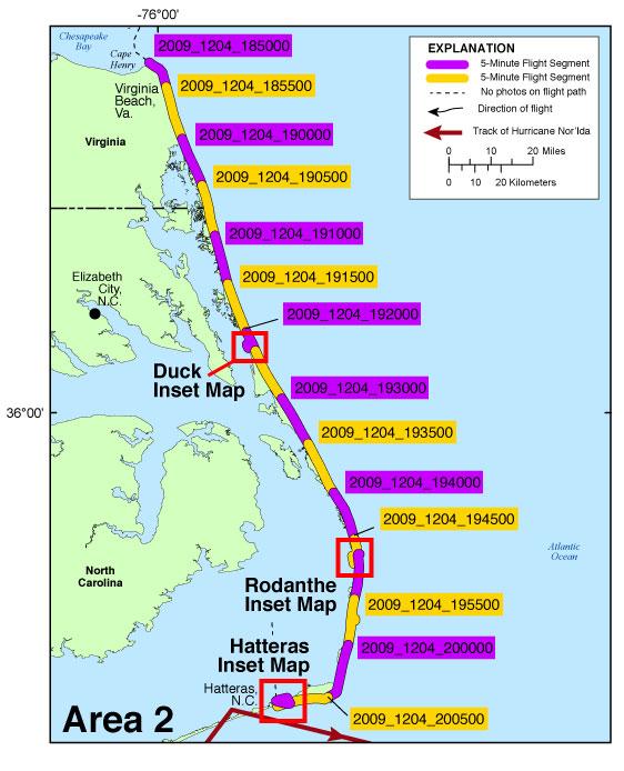 ACH Photos And Maps PostNorIda Coastal Oblique Aerial - Map of virginia and north carolina