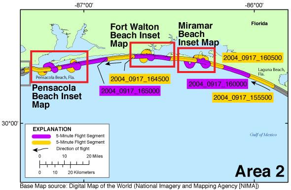 Ds 945 Photos And Maps Post Hurricane Ivan Coastal Oblique