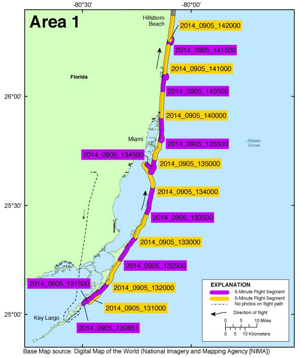 Key Largo Florida Map.Ds 953 Photos And Maps Baseline Coastal Oblique Aerial