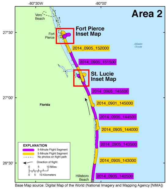 DS Photos And Maps Baseline Coastal Oblique Aerial - Fort pierce florida map
