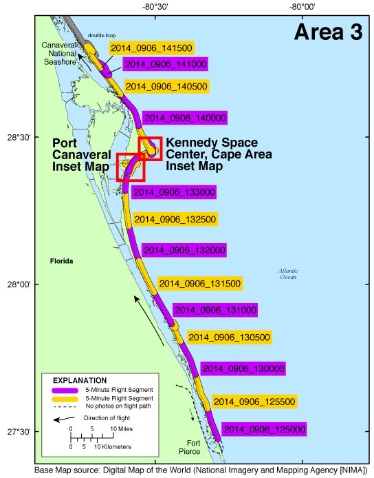 Map Of Fort Pierce Florida.Ds 953 Photos And Maps Baseline Coastal Oblique Aerial