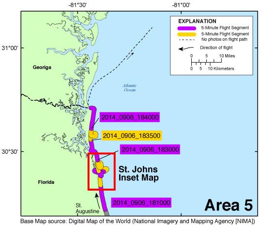 Florida Georgia Map.Ds 953 Photos And Maps Baseline Coastal Oblique Aerial