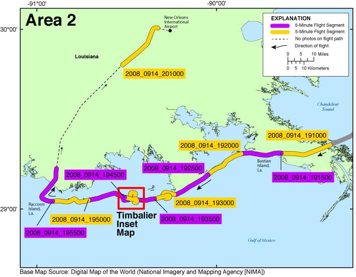 DS990  Photos And Maps  PostHurricane Ike Coastal