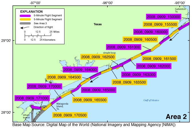 Map Of Texas Islands.Ds991 Photos And Maps Baseline Coastal Oblique Aerial