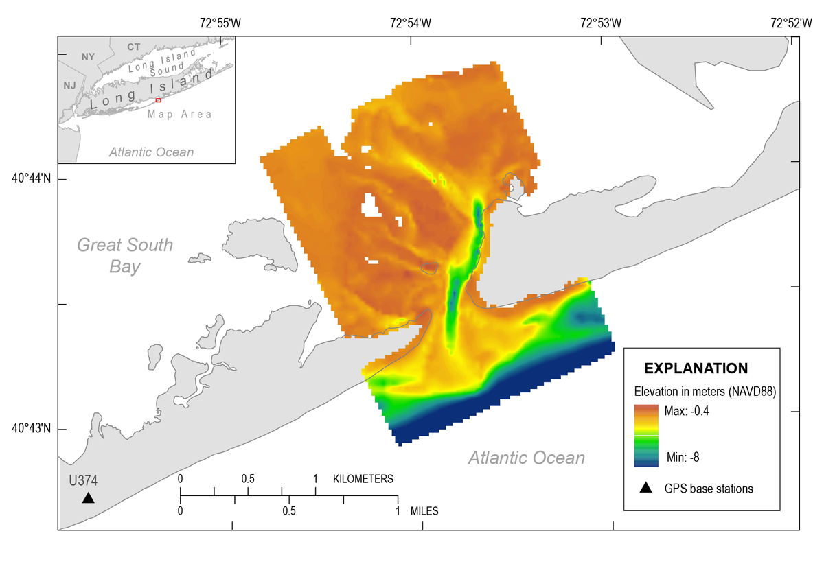 USGS Data Series 1007: Coastal Bathymetry Data Collected in