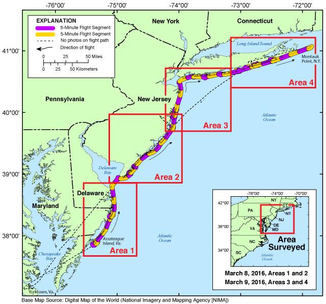 Coastal Virginia Map.Ds1030 Winter 2016 Part B Coastal Oblique Aerial Photographs