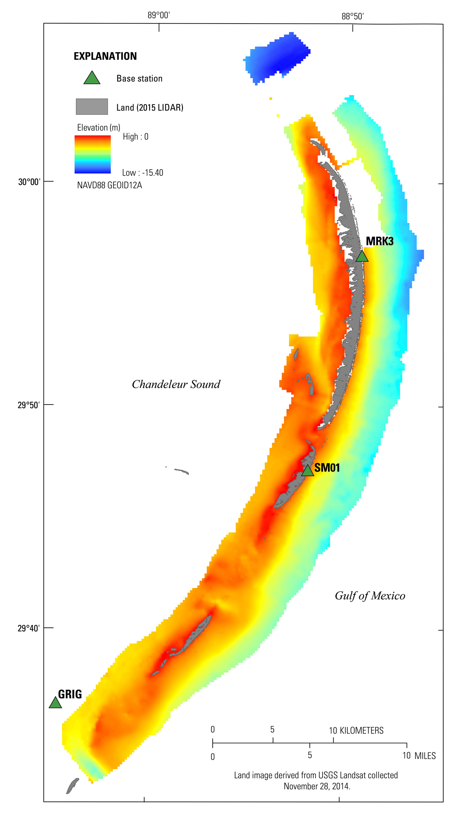 USGS Data Series 1039: Coastal Single-Beam Bathymetry Data