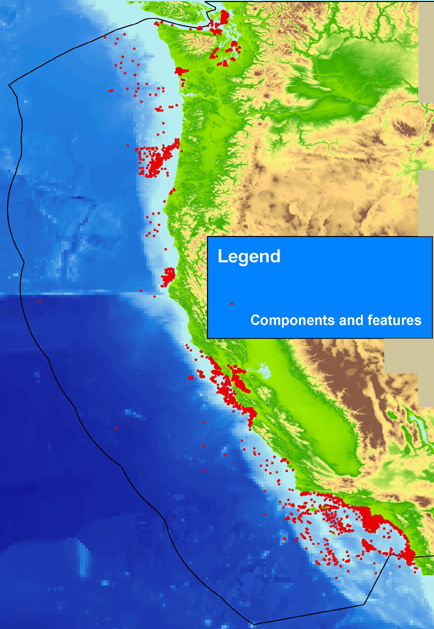 Image map showing extent of data layer coverage