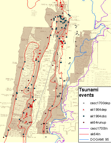 Seaside Oregon Tsunami Pilot Study GIS USGS DS Historic Events - Fema firm maps gis