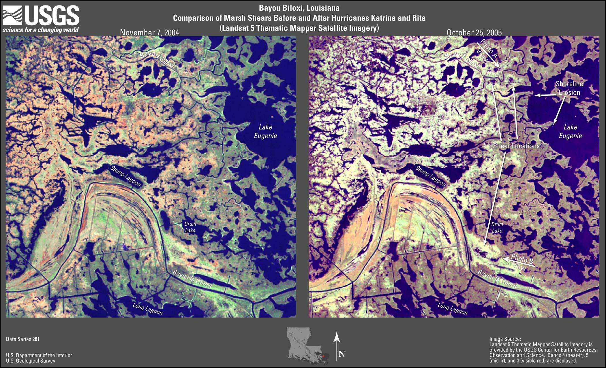 USGS Data Series 281: Satellite Images and Aerial