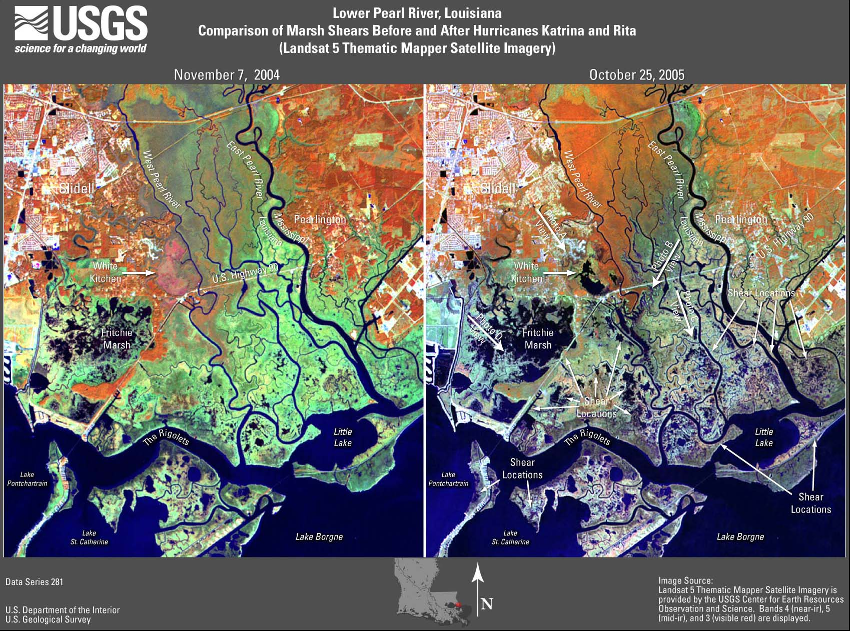 USGS Data Series 281 Satellite Images and Aerial Photographs of