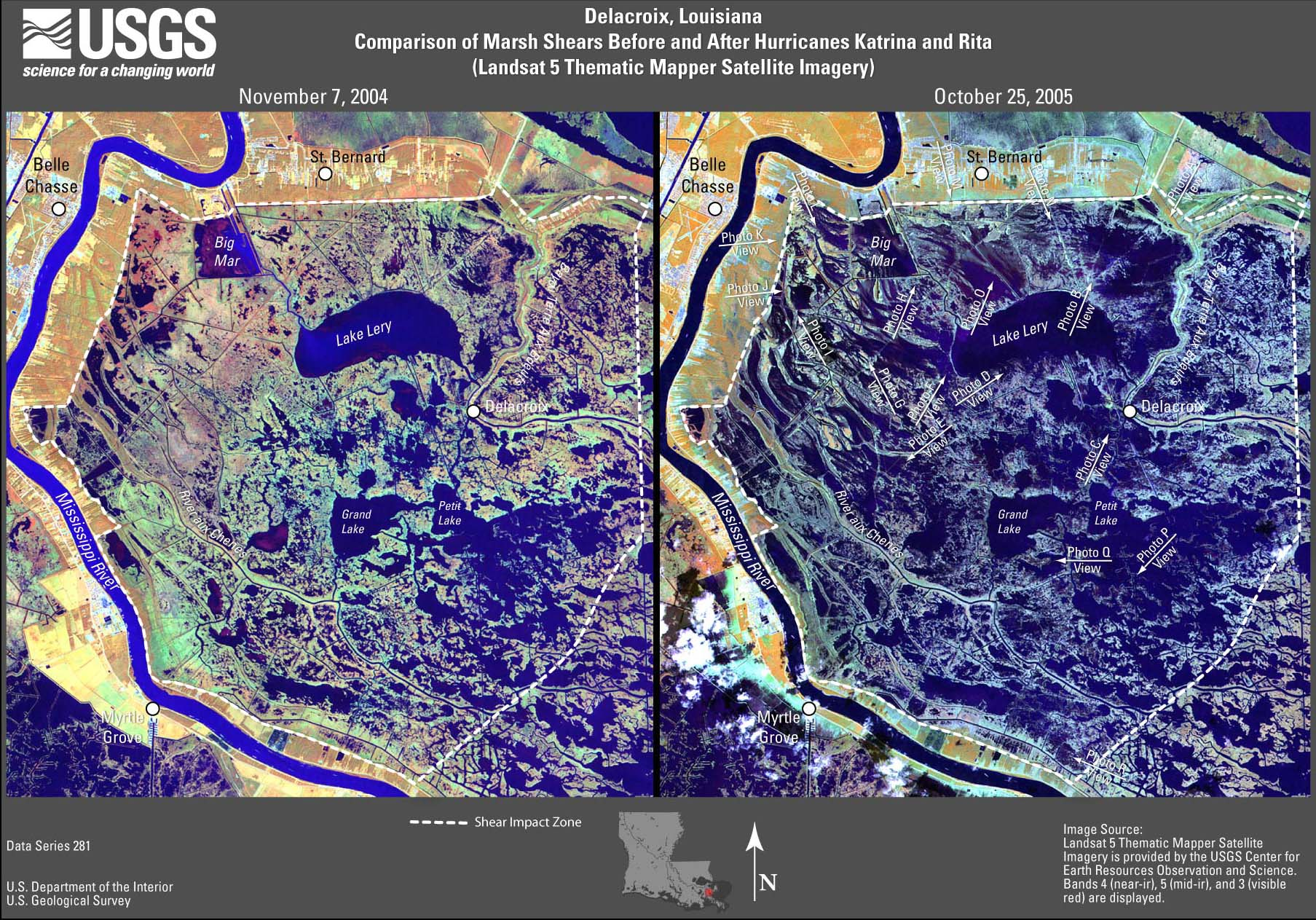Usgs Data Series 281 Satellite Images And Aerial Photographs Of The