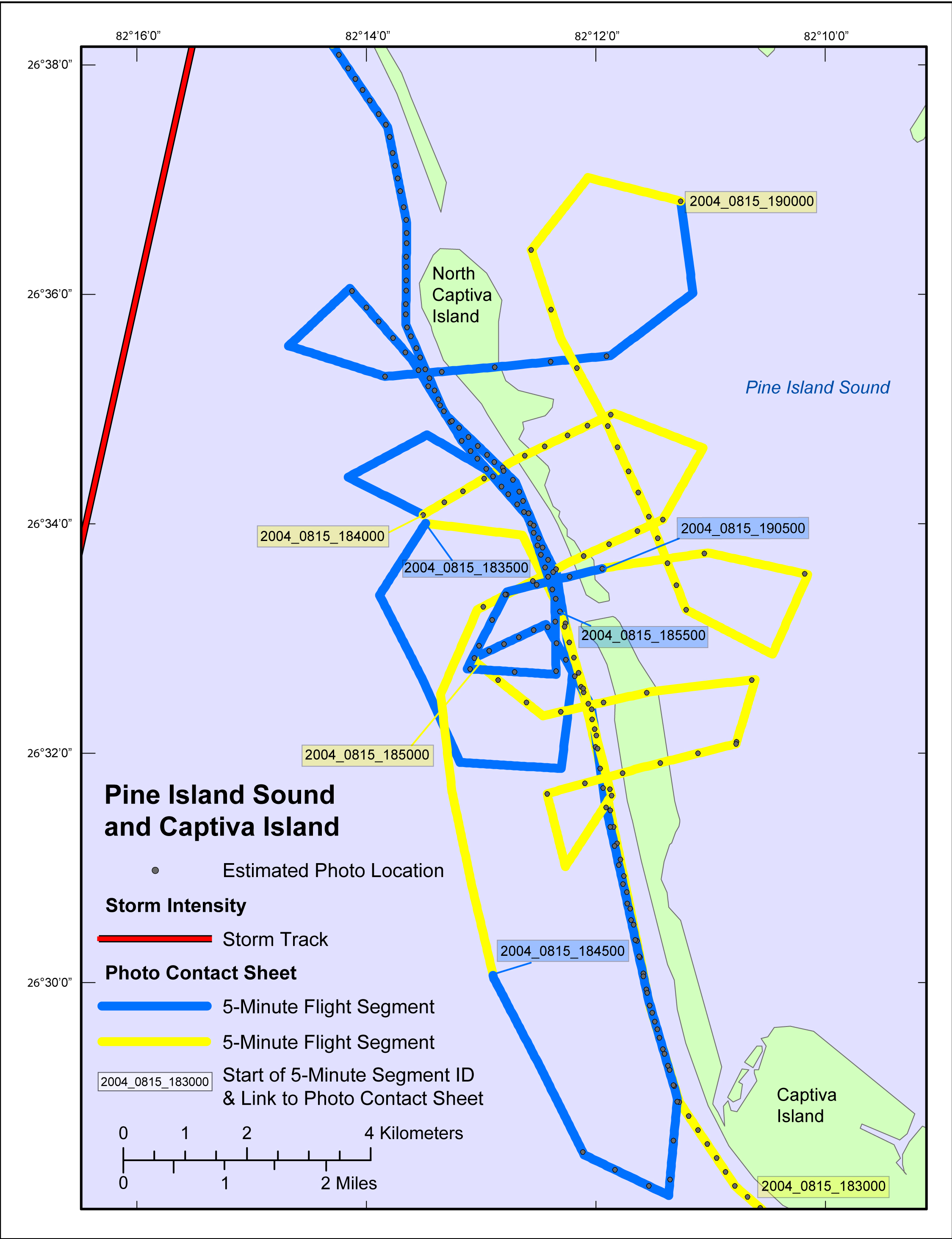 Southern Counties - Pine Island Sound Map - Archive of Post ...