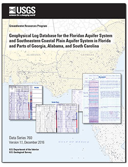 Geophysical log database for the Floridan aquifer system and southeastern Coastal Plain aquifer system in Florida and parts of Georgia, Alabama,  and South Carolina