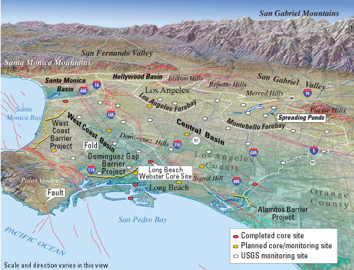 Probing the Los Angeles Basin—Insights Into Ground-Water Resources on