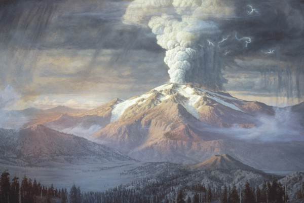 Image result for the explosion of mt. mazama