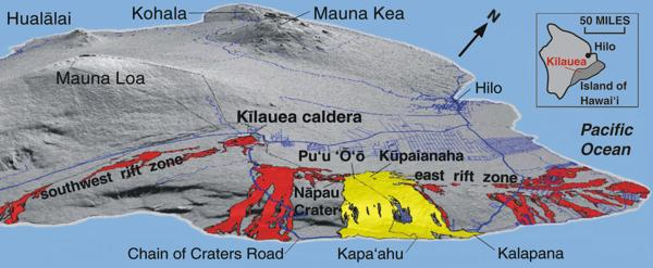 The Puu OoKupaianaha Eruption of Klauea Volcano Hawaii