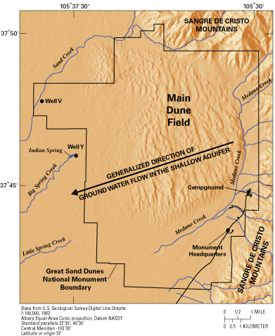USGS Colorado Water Resources Publication GroundWater Age and