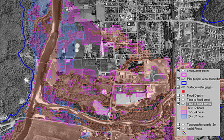Mapping A FloodBefore It Happens - Floodplain elevation maps