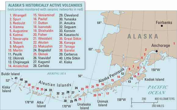 The Alaska Volcano Observatory -- Expanded Monitoring of Volcanoes ...