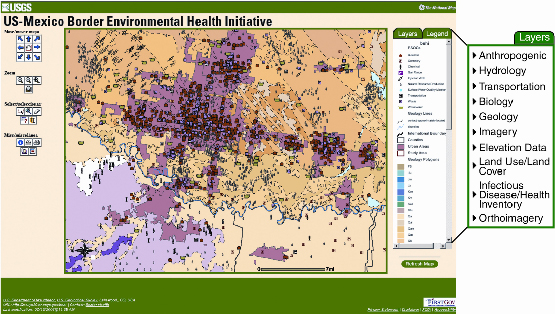 us mexico border environmental health project ims web site with a view