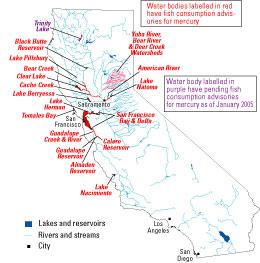 Mercury Contamination from Historical Gold Mining in California on old mine maps, gold mine maps, ohio underground mine maps, coal mine maps,