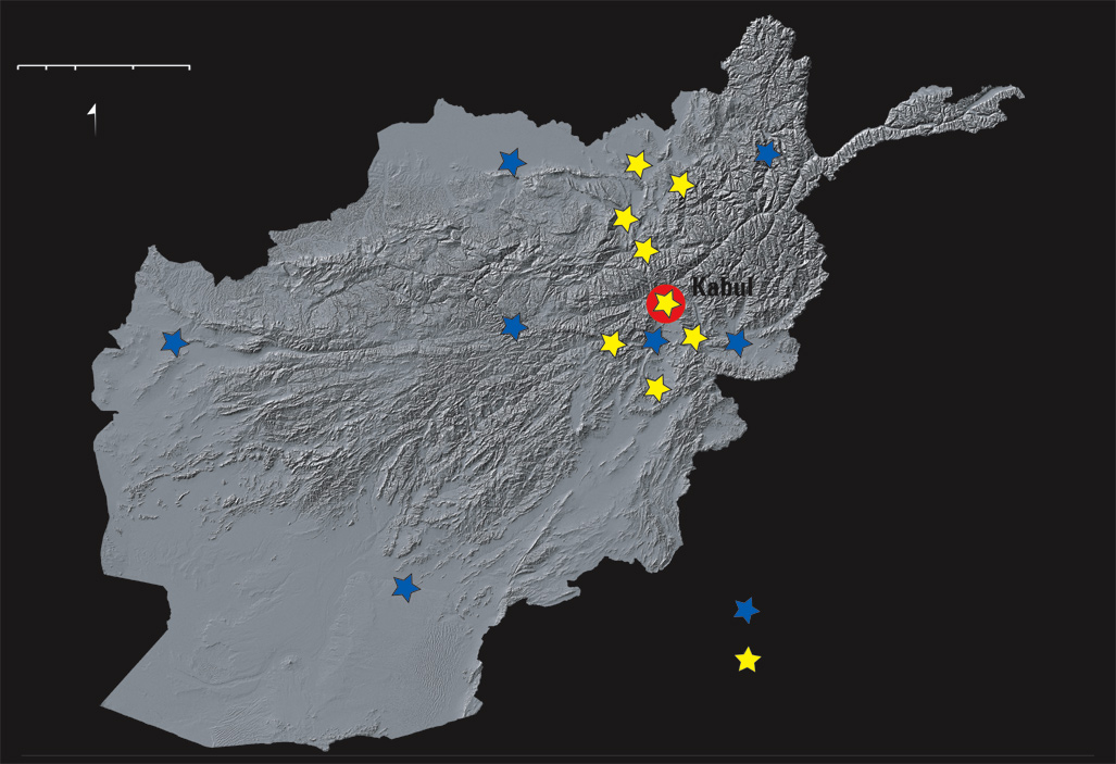 assessing the seismic hazards of afghanistan