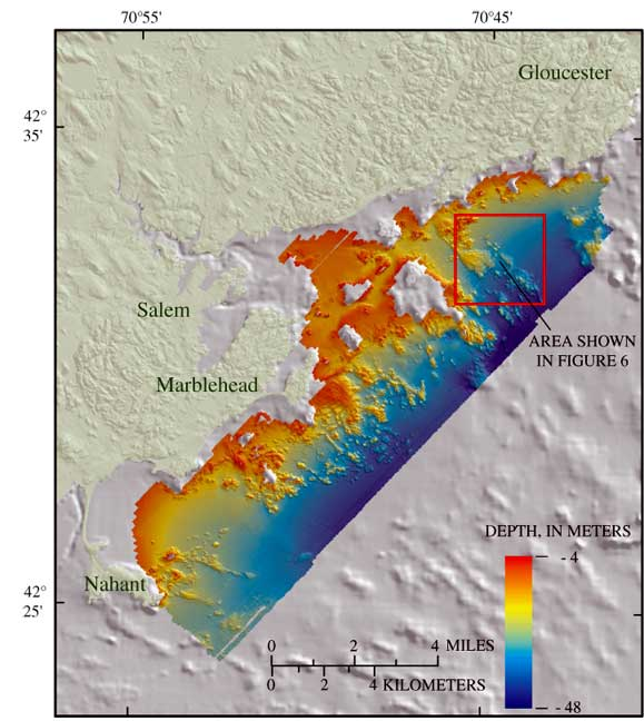 Mapping The Seafloor Geology Offshore Of Massachusetts