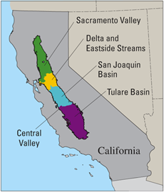 Compeion For Water Resources Is Growing Throughout California Particularly In The Central Valley Since 1980 The Central Valley S Population Has Nearly