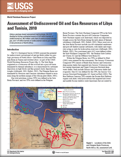 USGS Fact Sheet 2011–3105: Assessment of Undiscovered Oil and Gas