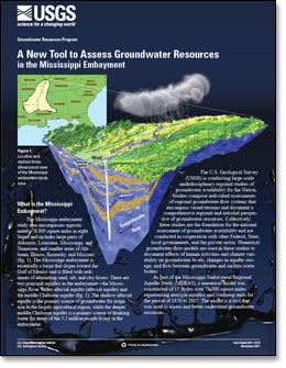 A New Tool to Assess Groundwater Resources in the Mississippi Embayment