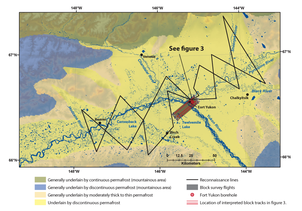 USGS Fact Sheet A Promising Tool For Subsurface - Yukon river map