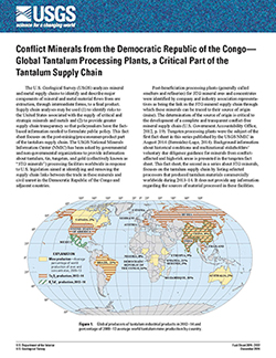 USGS Fact Sheet 2014–3122: Conflict Minerals from the