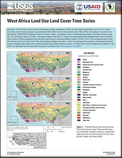 West Africa land use and land cover time series