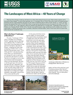The landscapes of West Africa—40 years of change