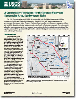 A groundwater-flow model for the Treasure Valley and surrounding area, southwestern Idaho