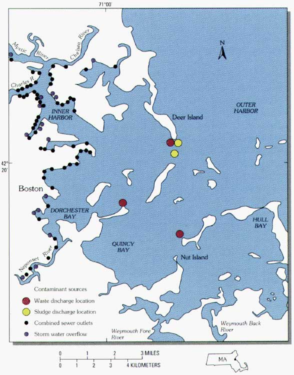 Figure 1 - The Legacy of Contaminated Sediments in Boston Harbor ...