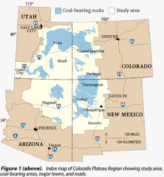 USGS Fact Sheet FS-145-99 Federally Owned in Colorado Plateau