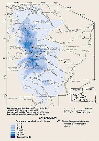 USGS Fact Sheet 03702 The 1972 Black HillsRapid City Flood