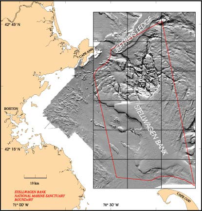 Mapping The Sea Floor Stellwagen Bank Usgs