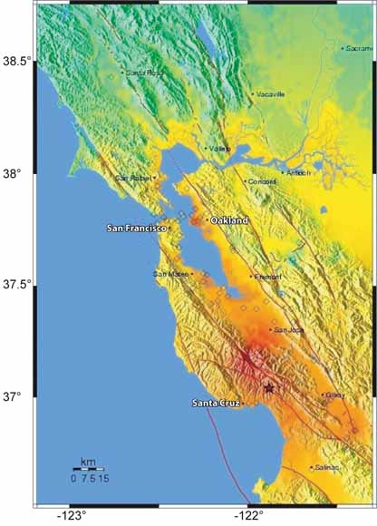 Usgs Earthquake Map San Francisco.Putting Down Roots In Earthquake Country Your Handbook For The San