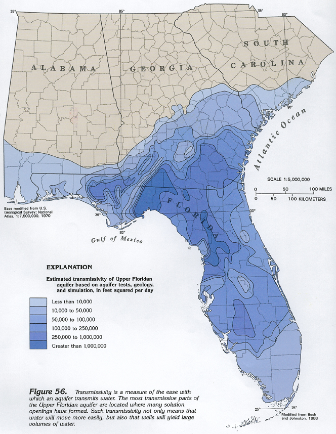 HA G Floridan Aquifer System Text - Us karst map usgs