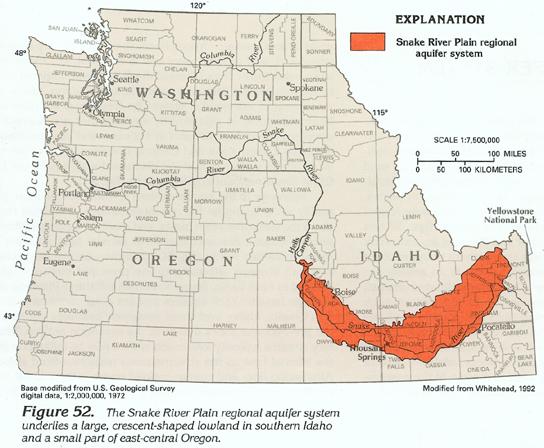Snake River Washington Map.Ha 730 H Snake River Plain Regional Aquifer System
