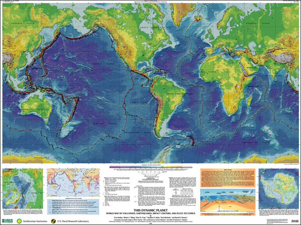 Geologic Investigations Map I 2800: This Dynamic Planet