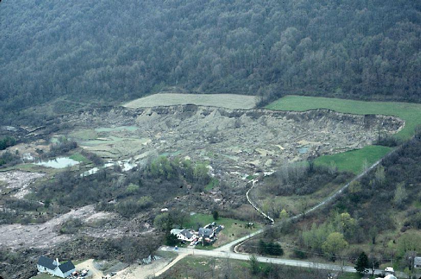 Tully Valley landslide study