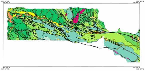 Digital geologic map of the Coeur d'Alene district, Idaho ... on lookout pass idaho map, old idaho map, dalton gardens idaho map, south fork snake river idaho map, fernan idaho map, colville idaho map, ketchum idaho map, blackfoot idaho map, idaho idaho map, panther creek idaho map, cougar gulch idaho map, trail of the coeur d'alenes map, lemhi pass idaho map, lewiston idaho map, nez perce county idaho map, greenville idaho map, north idaho map, springfield idaho map, givens hot springs idaho map, cordelaine idaho map,