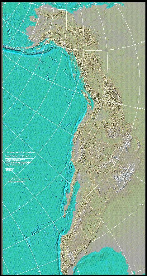 click on the thumbnail to view a page size figure of the map the north american